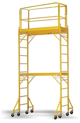 Mobile Scaffolding Portable Stacked Adjustable
